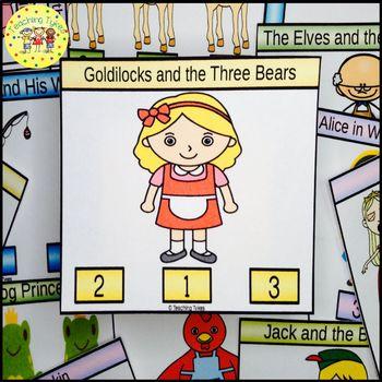 Goldilocks and the Three Bears Task Cards