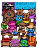Goldilocks and the Three Bears {Creative Clips Digital Clipart}