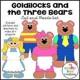 Goldilocks and the Three Bears Craft Bundle