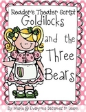 Goldilocks and the Three Bears ESL Adapted Reader's Theater