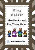 Goldilocks and the Three Bears Easy Reader Guided Reading Kit Fairy Tales