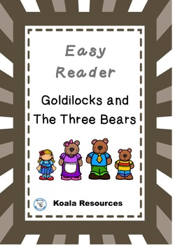 Goldilocks and the Three Bears Easy Reader Guided Reading Kit Fairy Tales