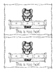Goldilocks and the Three Bears Emergent Reader {Freebie}