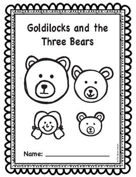 Goldilocks and the Three Bears Emergent Reader Play