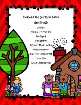 Goldilocks and the Three Bears Fairy Tale Bundle