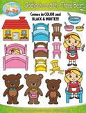 Goldilocks and the Three Bears Fairy Tale Clipart {Zip-A-Dee-Doo-Dah Designs}