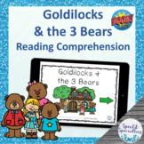 Goldilocks and the Three Bears Fairy Tales Reading Compreh