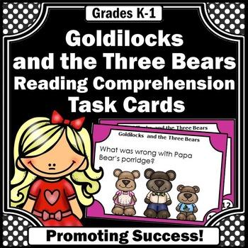 Goldilocks and the Three Bears Fairy Tale Book Activities & Games