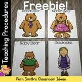 Goldilocks and the Three Bears Kindergarten Week 3 Small G