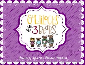 Goldilocks and the Three Bears Learning Pack