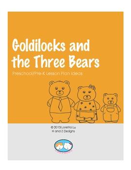 Goldilocks and the Three Bears Lesson Plan Ideas