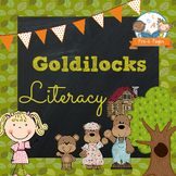 Goldilocks and the Three Bears Literacy Activites for Pre-K and K