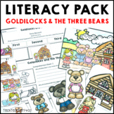 Goldilocks and the Three Bears Literacy Activities Fairy Tale