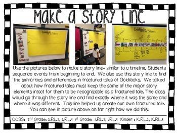 Goldilocks and the Three Bears Literacy Extensions