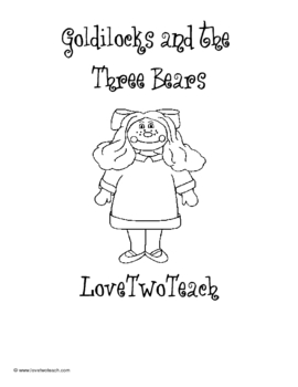 Goldilocks and the Three Bears:  Literacy and Math Fun