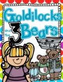Goldilocks and the Three Bears Literacy and Math Sub Tub