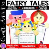Goldilocks and the Three Bears, Little Red Riding Hood and The Three Little Pigs
