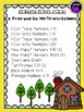 Goldilocks and the Three Bears Math Activity Pack for Kindergarten