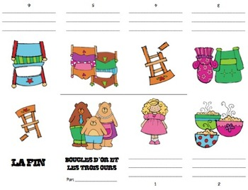 Goldilocks and the Three Bears Mini Booklet