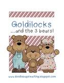Goldilocks and the Three Bears Mini Unit Literacy, Reading, Art
