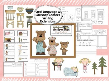 Goldilocks and the Three Bears Literacy & BEARS Informational Text Close Reading