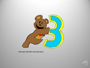 Goldilocks and the Three Bears - Power Point Presentation