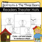 Goldilocks and the Three Bears - Readers Theater Hats