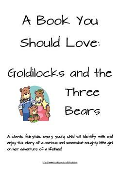 Goldilocks and the Three Bears Reading Lesson Plan