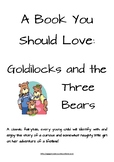Goldilocks and the Three Bears Reading Lesson Plan