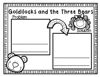 Goldilocks and the Three Bears--Response Journal for K-2