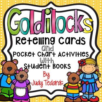 Goldilocks And The Three Bears Retell Cards Worksheets