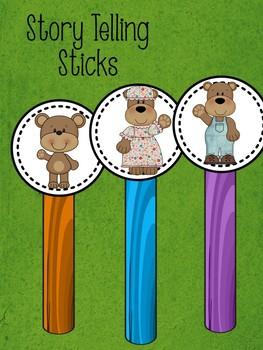 Goldilocks and the Three Bears Retelling Packet
