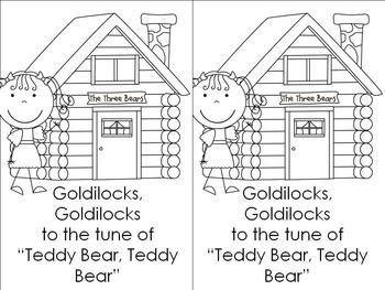 Goldilocks and the Three Bears Science and Literacy Fun