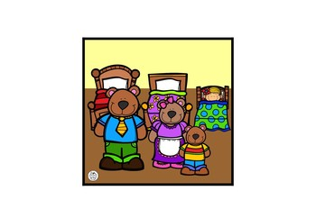 Goldilocks and the Three Bears Sequencing Cards - Bee Bots