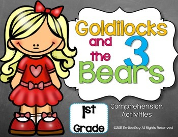 Goldilocks and the Three Bears Set {CCSS}