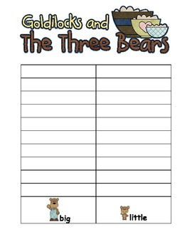 Goldilocks and the Three Bears~ Spin Game