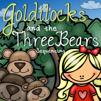 It is a photo of Goldilocks and the Three Bears Story Printable in diagram