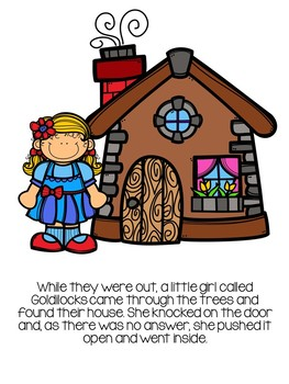 Goldilocks and the Three Bears Story Unit