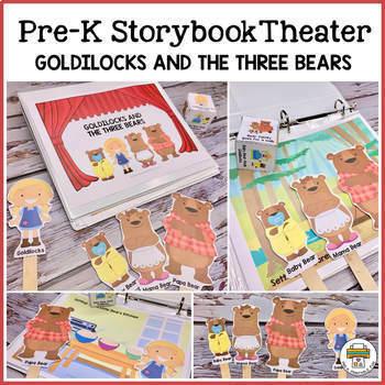 Goldilocks and the Three Bears Storybook Theater