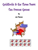 Goldilocks and the Three Bears Ten Frames Games