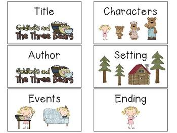 Goldilocks and the Three Bears Unit for Kindergarten