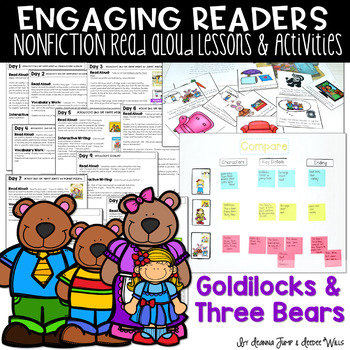 Goldilocks and the Three Bears Unit of Study: Reading Comprehension Unit