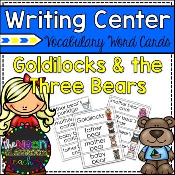 Goldilocks and the Three Bears Vocabulary Word Cards