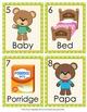Goldilocks and the Three Bears Write the Room Activity