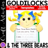 Goldilocks and the Three Bears craft activity