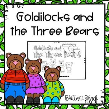 Goldilocks and the Three Bears- emergent reader