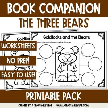 Goldilocks and the Bears- Book Companion