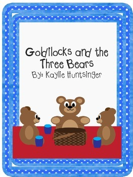 Goldilocks and the three bears literacy pack