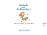 Goldilocks and the three bears storybook