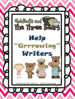 "Goldilocks & the 3 Bears Help ""Grrrowing"" Writers Data Wall"